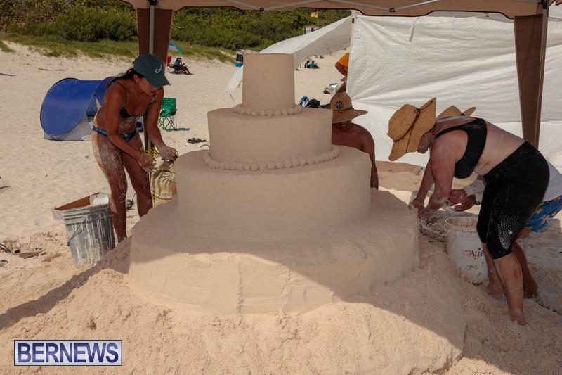 Bermuda Sandcastle Contest at Horseshoe Beach Sept 2020 (27)