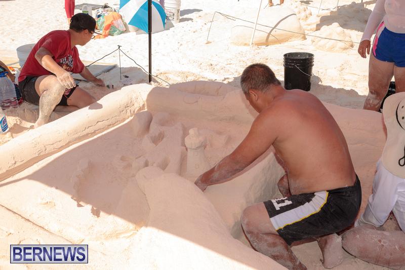 Bermuda Sandcastle Contest at Horseshoe Beach Sept 2020 (29)