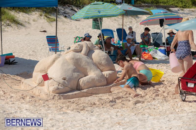 Bermuda Sandcastle Contest at Horseshoe Beach Sept 2020 (3)
