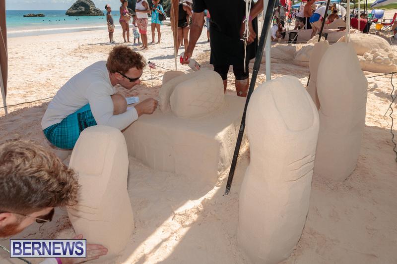 Bermuda Sandcastle Contest at Horseshoe Beach Sept 2020 (32)