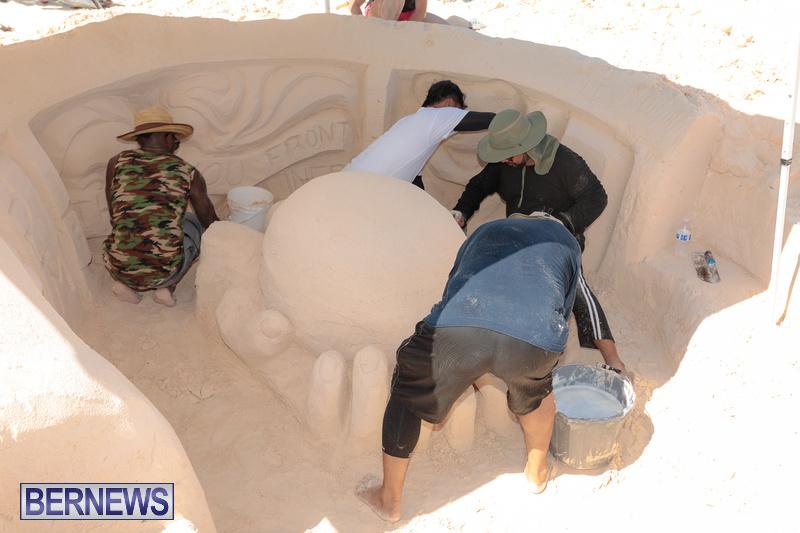 Bermuda Sandcastle Contest at Horseshoe Beach Sept 2020 (36)