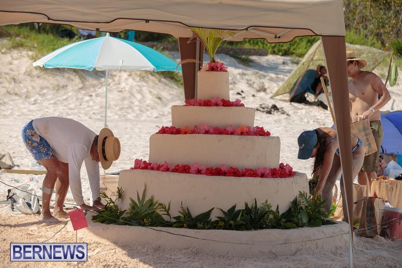 Bermuda Sandcastle Contest at Horseshoe Beach Sept 2020 (4)