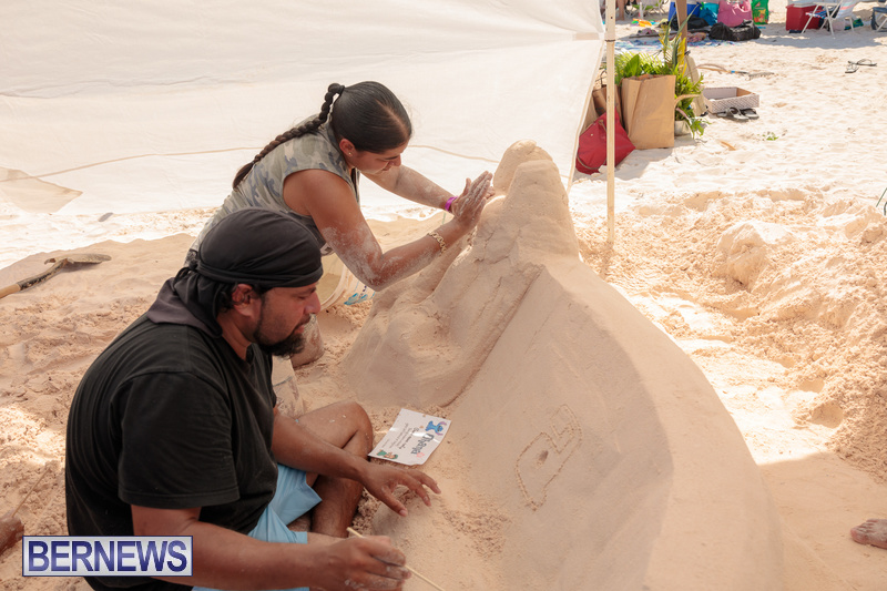 Bermuda Sandcastle Contest at Horseshoe Beach Sept 2020 (44)