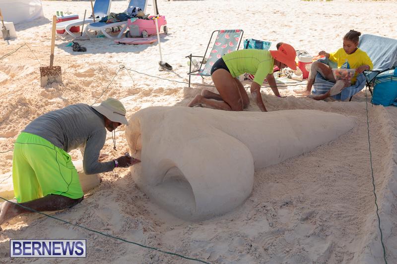 Bermuda Sandcastle Contest at Horseshoe Beach Sept 2020 (48)
