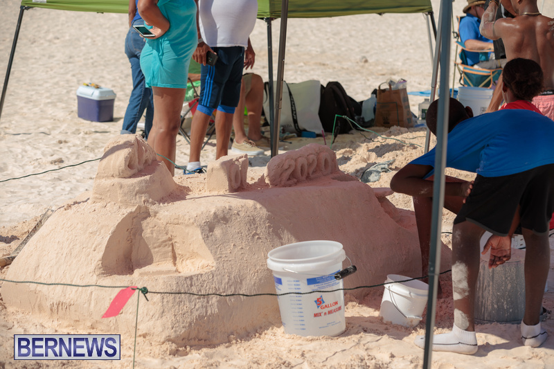 Bermuda Sandcastle Contest at Horseshoe Beach Sept 2020 (5)