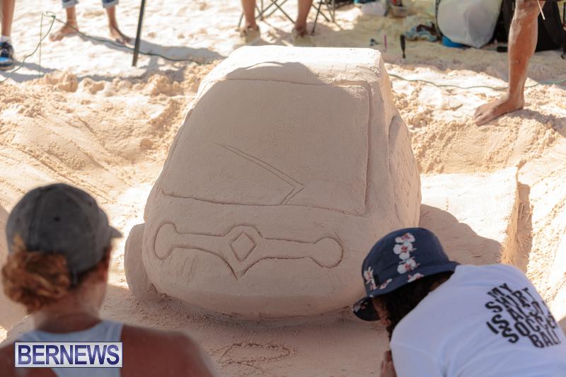 Bermuda Sandcastle Contest at Horseshoe Beach Sept 2020 (6)