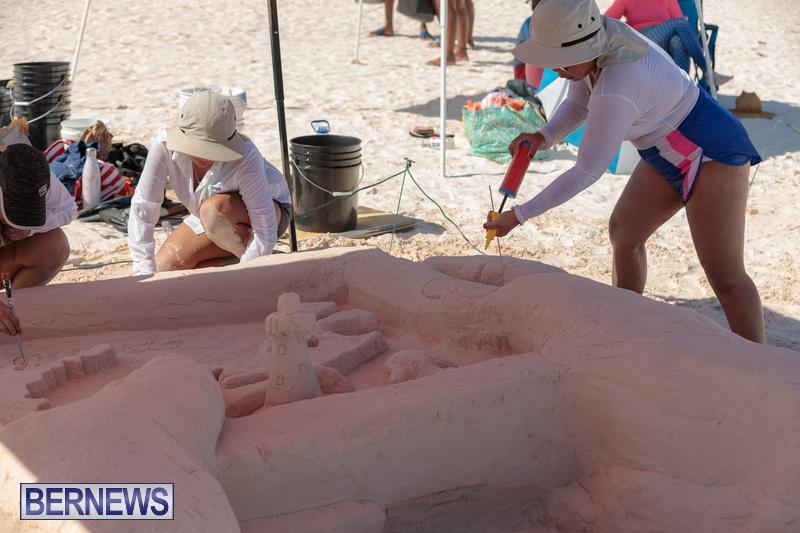 Bermuda Sandcastle Contest at Horseshoe Beach Sept 2020 (8)
