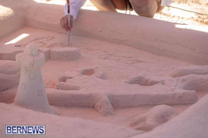 Bermuda Sandcastle Contest at Horseshoe Beach Sept 2020 (9)