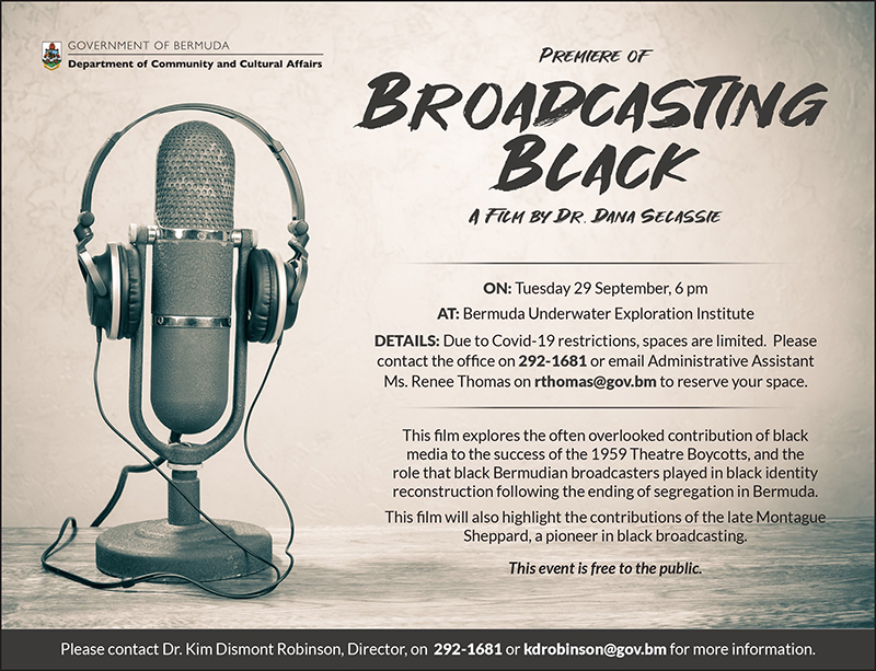 Broadcasting Black Film Bermuda Sept 2020 3