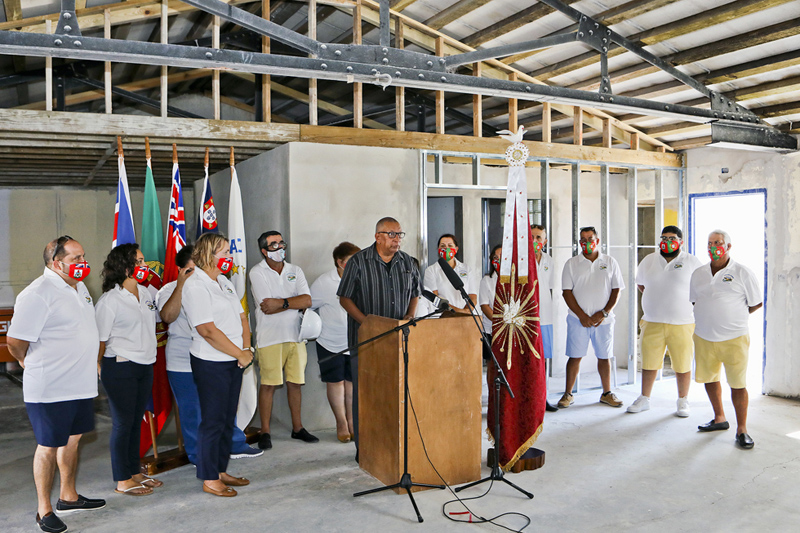 Casa dos Acores Community Centre Roof Wetting Bermuda Sept 2020 (1)