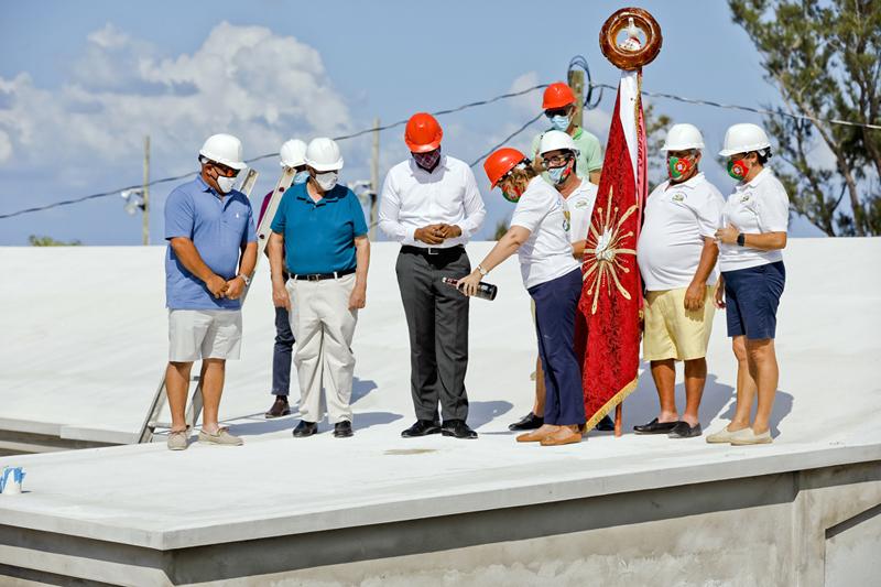 Casa dos Acores Community Centre Roof Wetting Bermuda Sept 2020 (3)