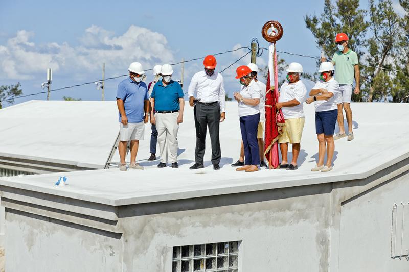 Casa dos Acores Community Centre Roof Wetting Bermuda Sept 2020 (4)