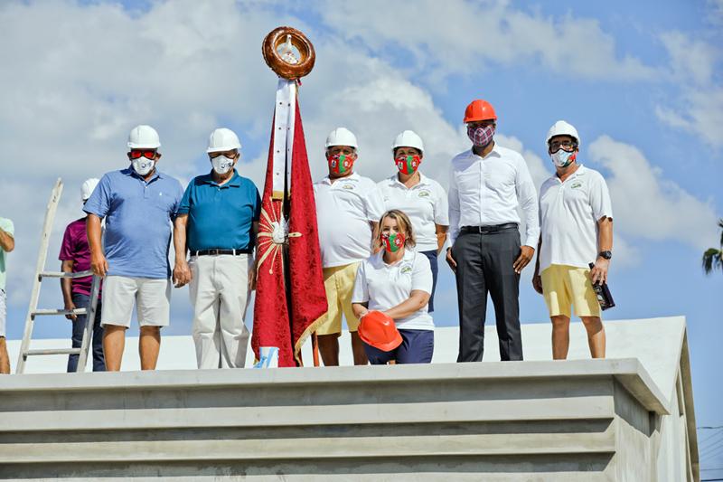 Casa dos Acores Community Centre Roof Wetting Bermuda Sept 2020 (5)