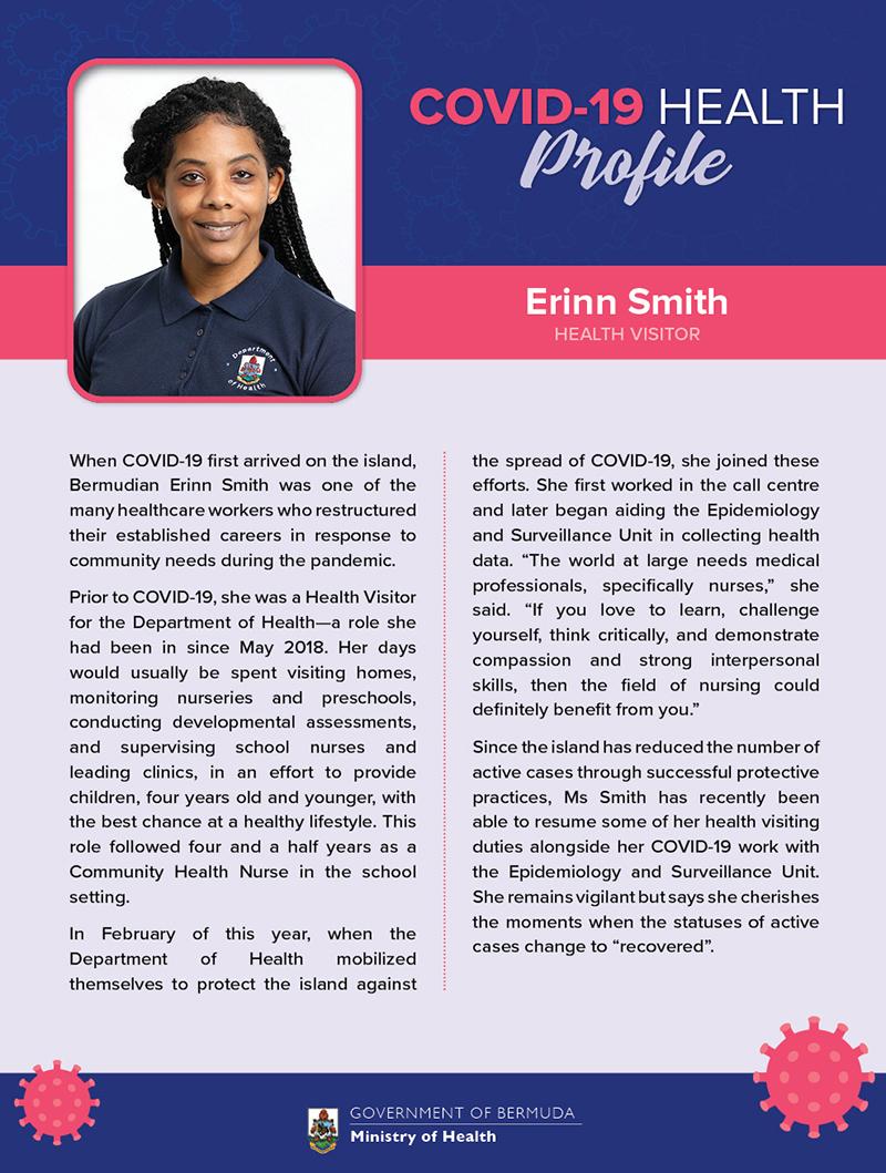 Erinn Smith Bermuda Sept 2020