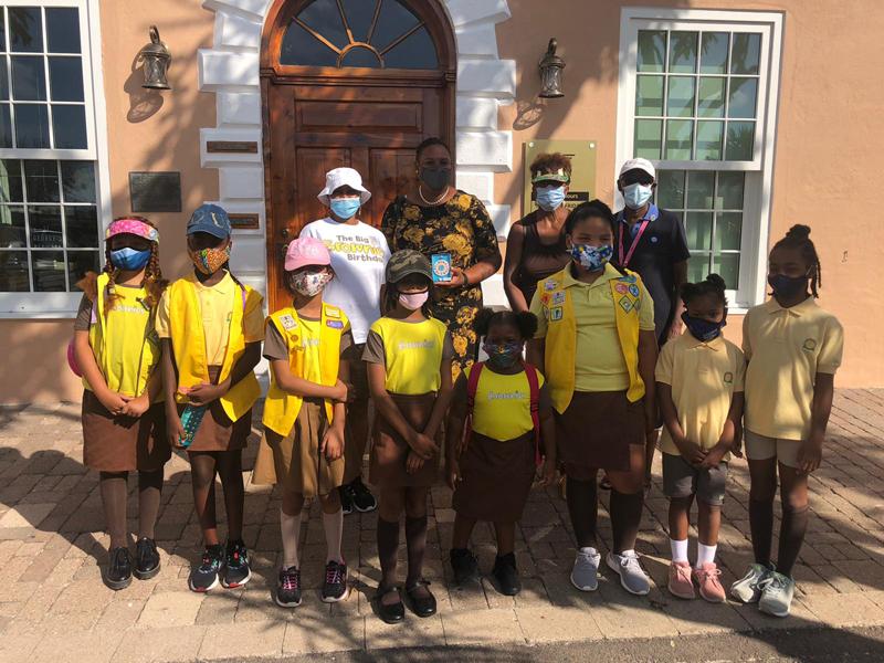 First Devonshire Brownies Historical Field Trip Bermuda Sept 2020 (2)