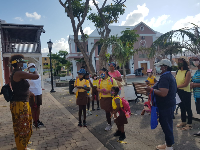 First Devonshire Brownies Historical Field Trip Bermuda Sept 2020 (6)