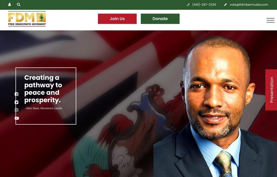 Free Democratic Movement Bermuda –site