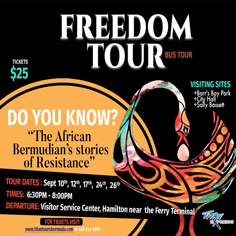 Freedom Bus Tour Bermuda Sept 2020