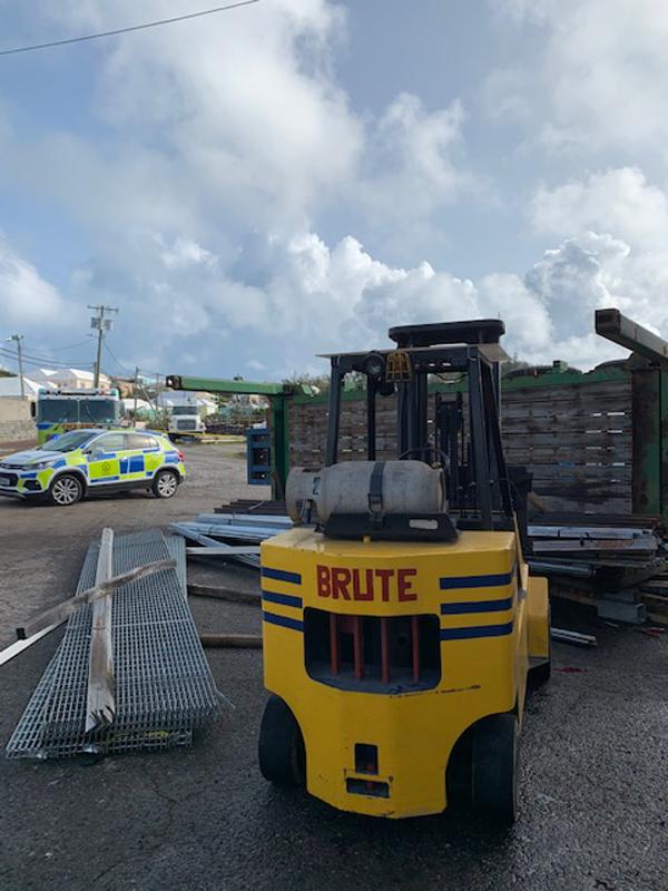 Industrial Accident At Wellington Slip Road Bermuda Sept 2020 (2)