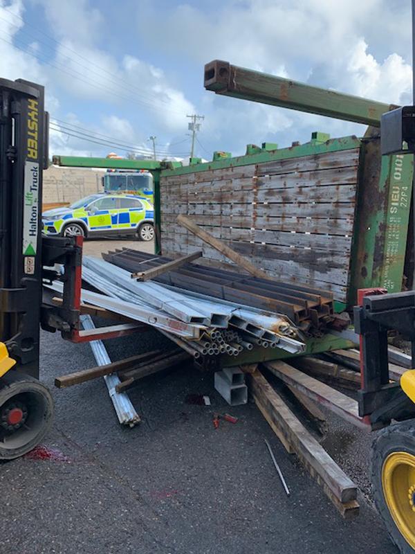 Industrial Accident At Wellington Slip Road Bermuda Sept 2020 (3)