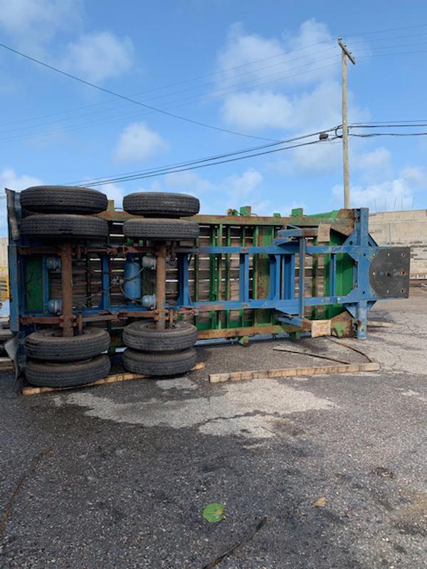 Industrial Accident At Wellington Slip Road Bermuda Sept 2020 (5)