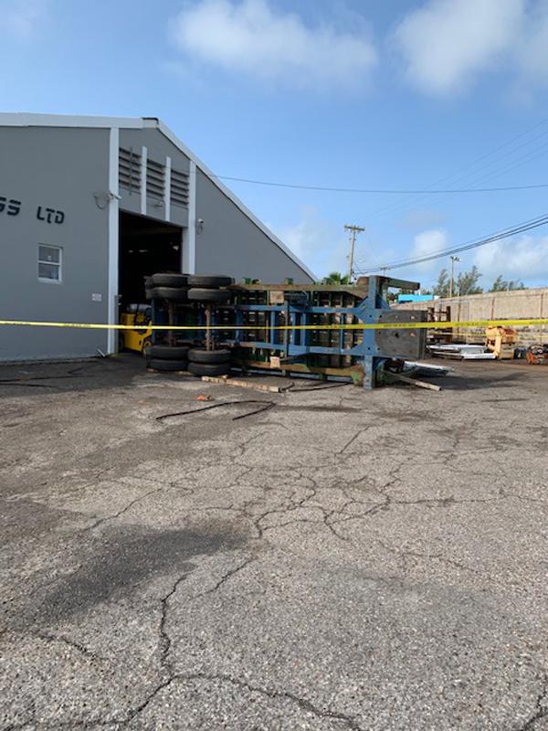 Industrial Accident At Wellington Slip Road Bermuda Sept 2020 (6)