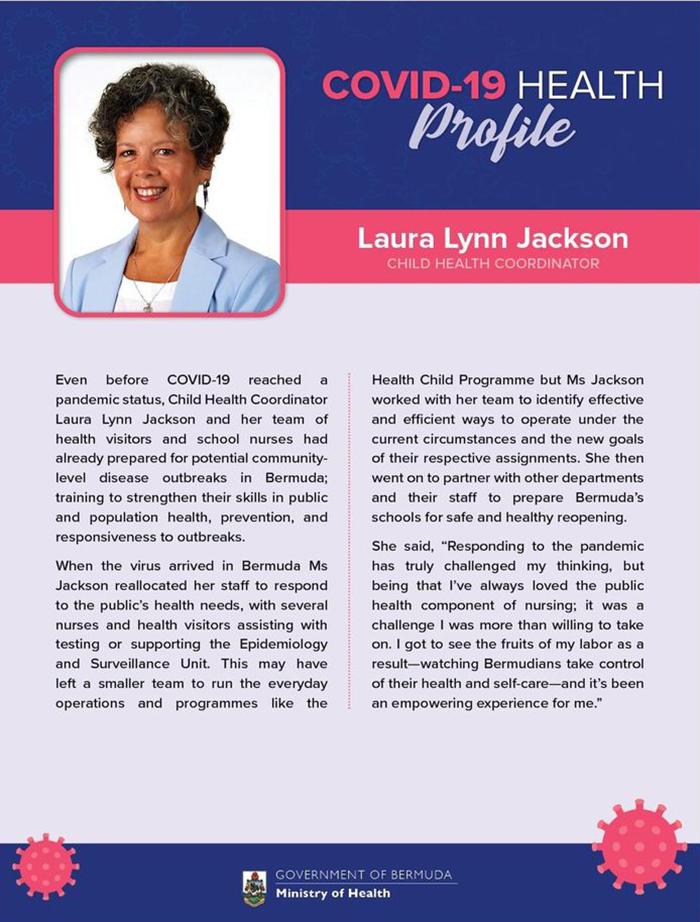 Laura Lynn Jackson Bermuda Sept 2020
