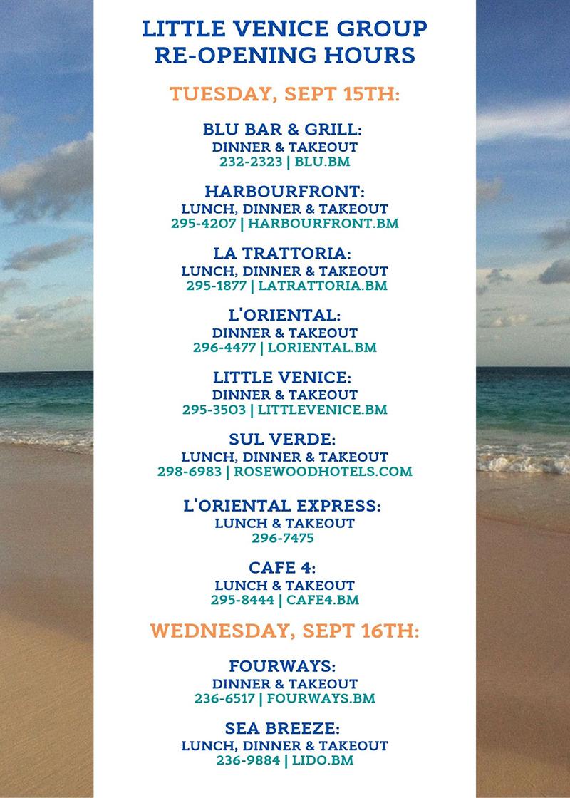 Little Venice Bermuda Sept 2020