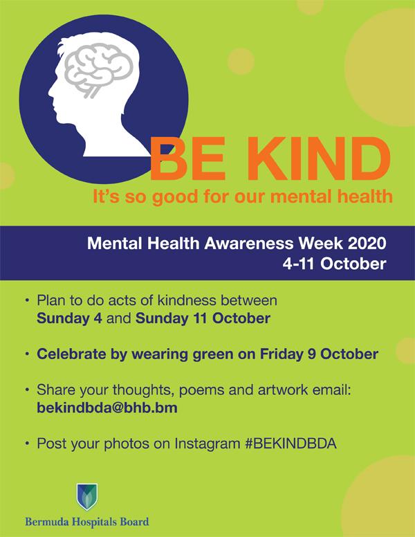 Mental Health Awareness Week Kindness Bermuda Sept 2020 (1)