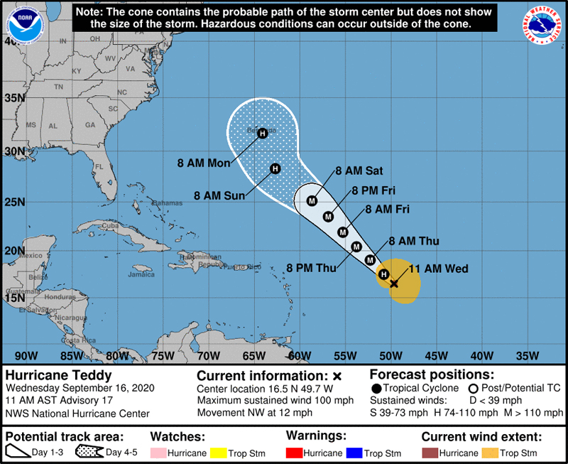 NHC Hurricane Teddy September 16 2020 (1)