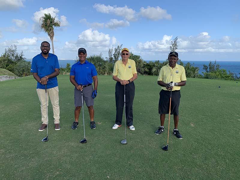 Ocean View Governors Cup Bermuda Sept 2020  7 Jonathan James, Aaron Adams, Antony Siese  & Derek Lambert