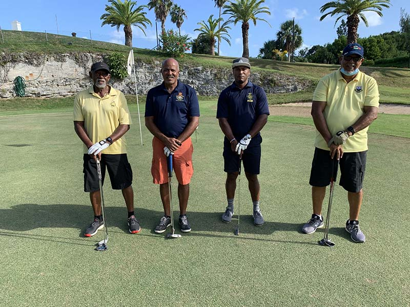 Ocean View Governors Cup Bermuda Sept 2020  9 Nathan Stevens, Alvin Harvey, Lorenzo Ratteray  & Ernest Paynter