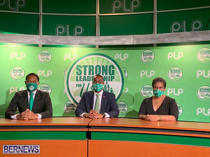 PLP Announce Simmons & Adams Bermuda Sept 3 2020
