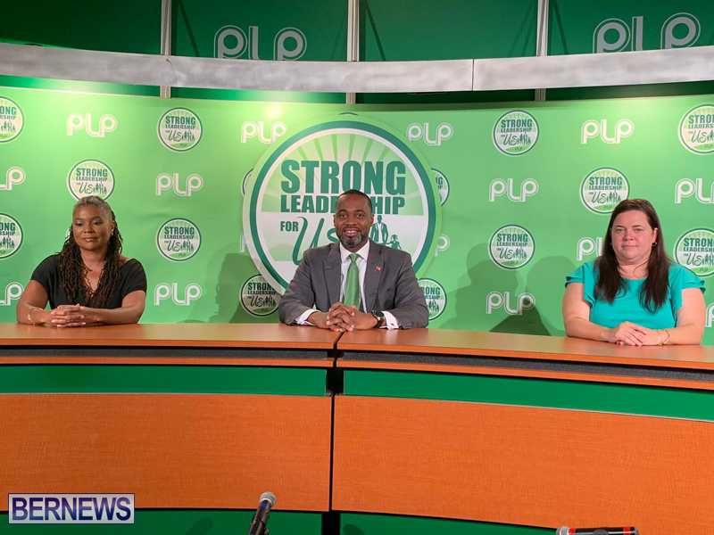 PLP Announce Simmons & Simmons Bermuda Sept 2 2020