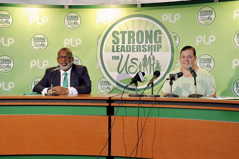 PLP Press Conference Bermuda Sept 2020