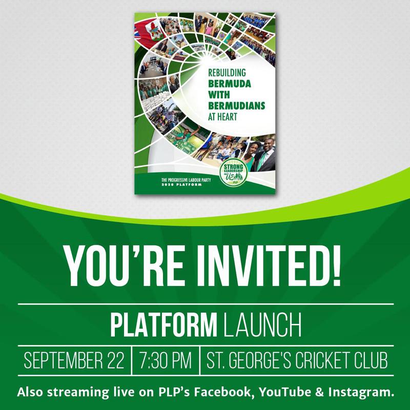 PLP Virtual Platform Launch Bermuda Sept 2020