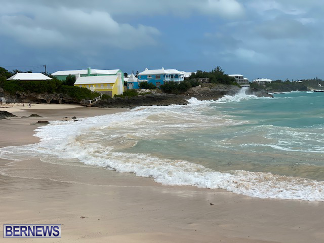 Paulette Approaches Bermuda Sept 13 2020 2