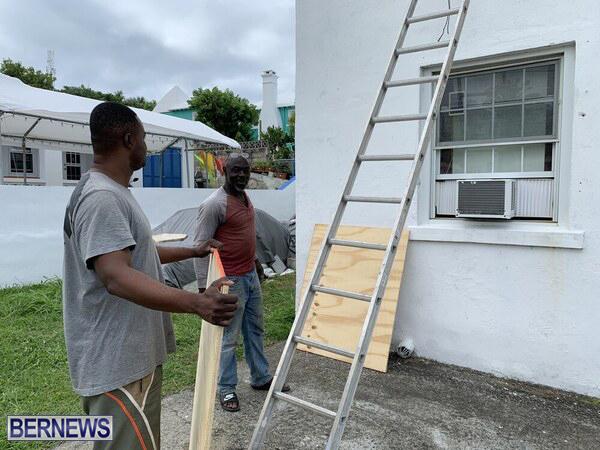 Paulette Preparation Underway Bermuda Sept 2020 3