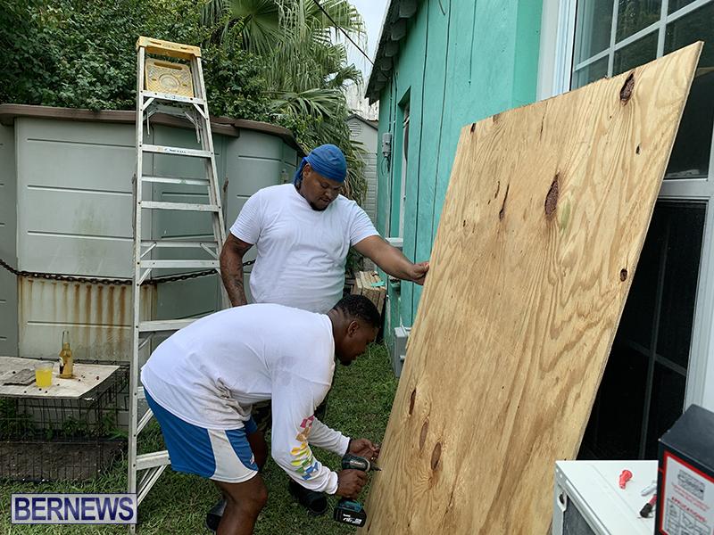 Paulette Preparation Underway Bermuda Sept 2020 5