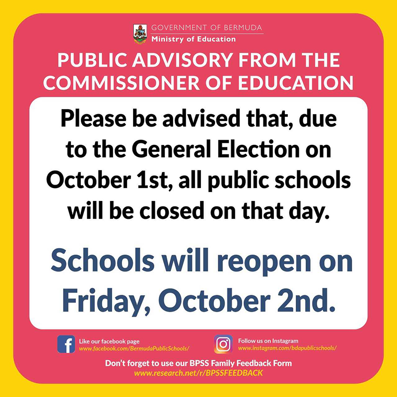 Public Schools Closed On Election Day Sept 2020