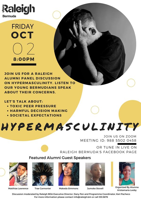 Raleigh Alumni Panel Discussion Bermuda Oct 2020