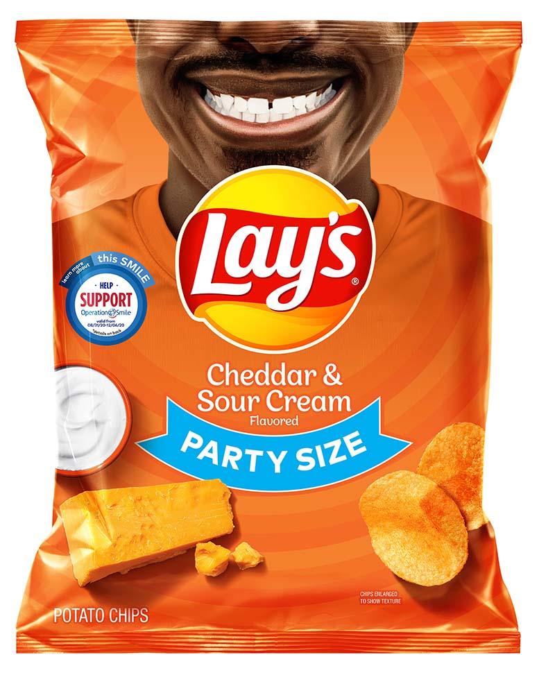 Rodney Smith Jr Lay's Smiles Bags Sept 2020 2