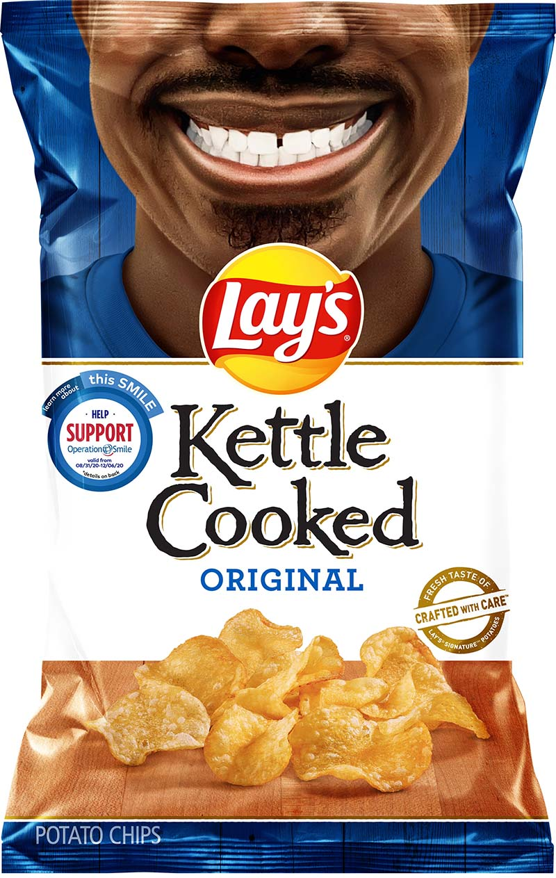 Rodney Smith Jr Lay's Smiles Bags Sept 2020 3
