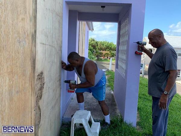 TS Paulette Preparation Underway Bermuda Sept 2020 2