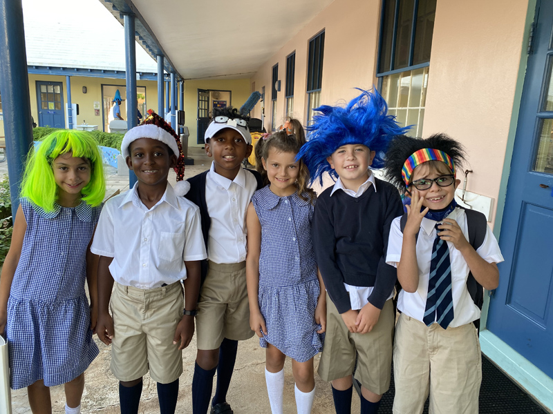 Warwick Academy PALS Mad Hair Day Bermuda Sept 2020 (1)