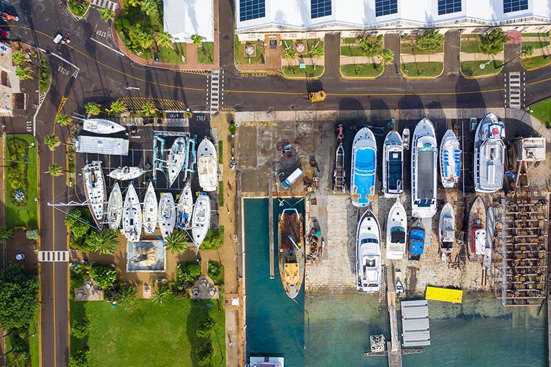 Wedco Marina Evacuation Bermuda Sept 3