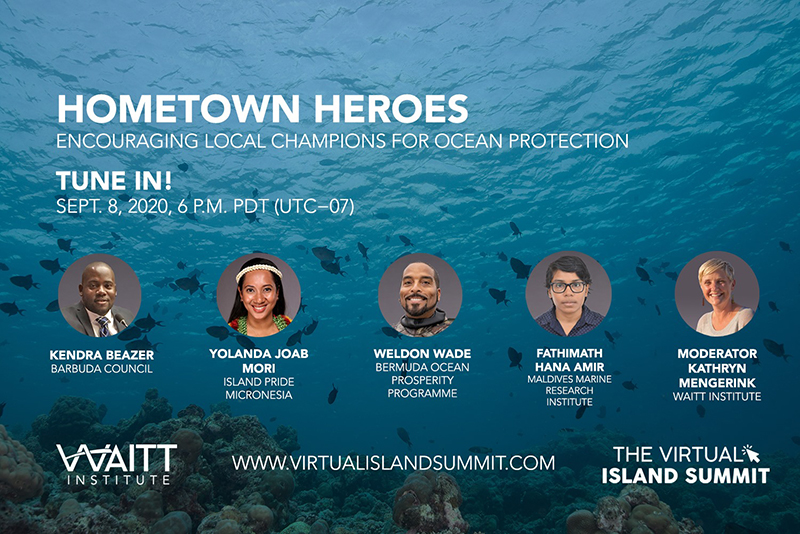 Weldon Wade Virtual Island Summit Bermuda Sept 2020