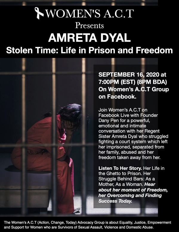 Women's ACT Amreta Dyal Bermuda September 2020 (3)