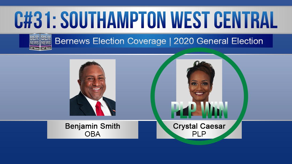 2020 Election Candidates - C31 Southampton West Central PLP