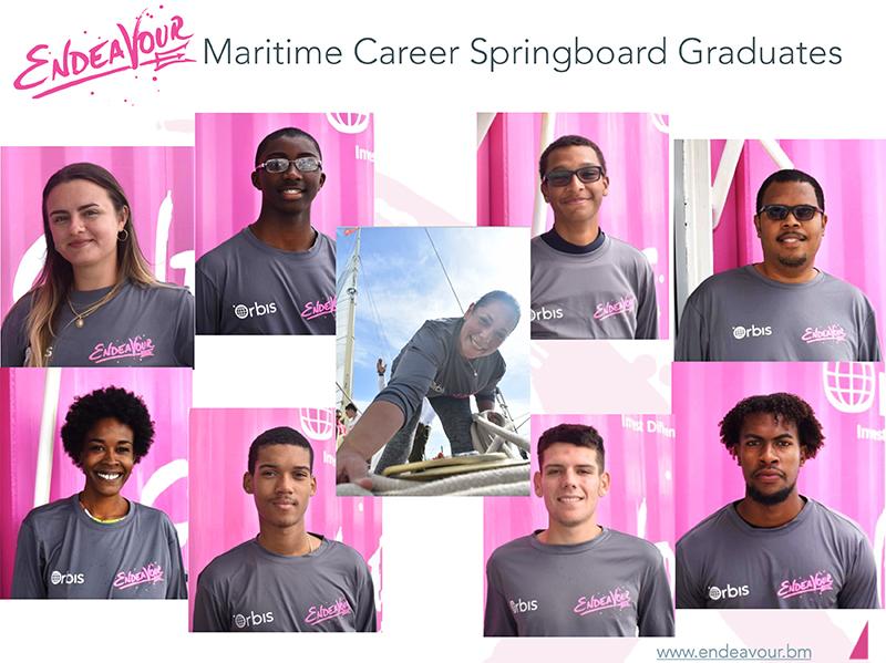 2020 Endeavour Maritime Career Springboard Graduates